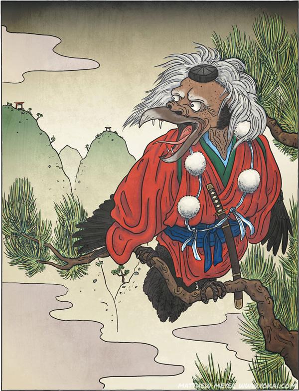 Kotengu or Karasu Tengu