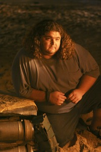 "Jorge Garcia as Hugo ""Hurley"" Reyes."