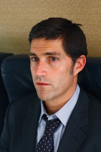 Matthew Fox as Jack Shephard.