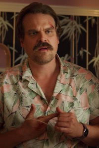 David Harbour as Jim Hopper.