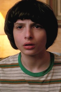 Finn Wolfhard as Mike Wheeler.